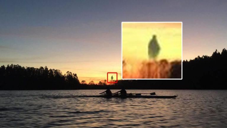 Reportan haber fotografiado una rara anomalía con forma humanoide en Chile