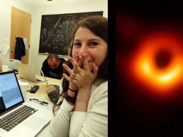 Troles acusan de fraude a Katie Bouman por la primera imagen de un agujero negro, pero son desmentidos