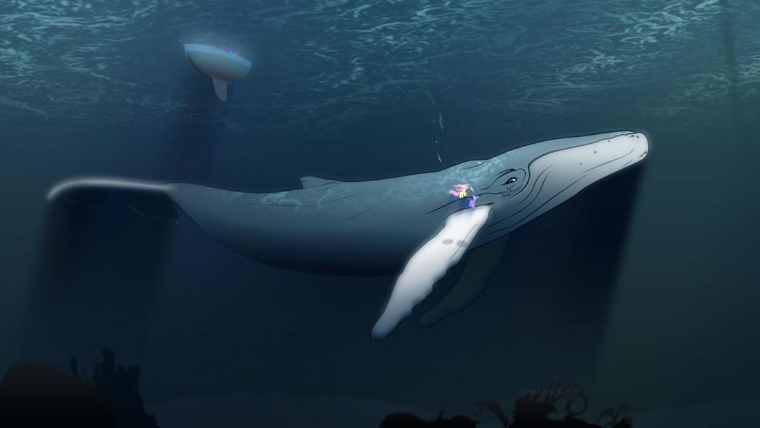 ¡Un real Moby Dick! Una rara ballena albina es avistada en la costa de México