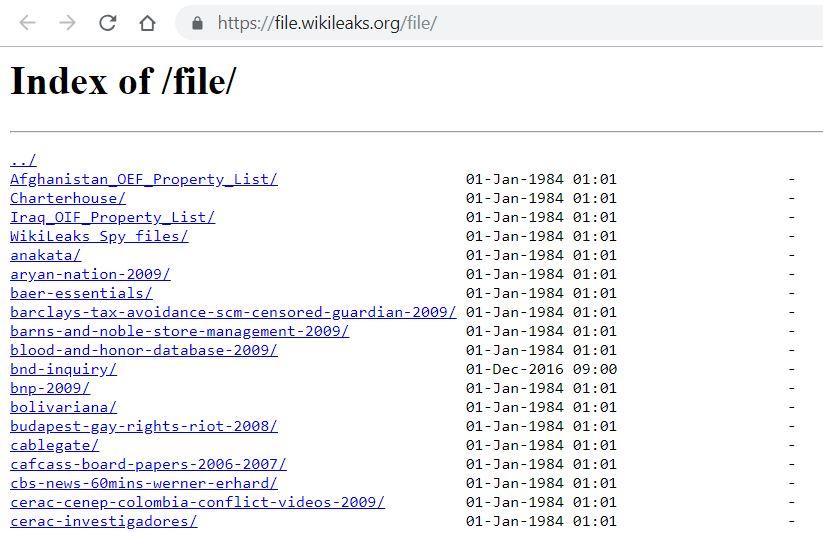 Son cientos los archivos filtrados por Wikileaks