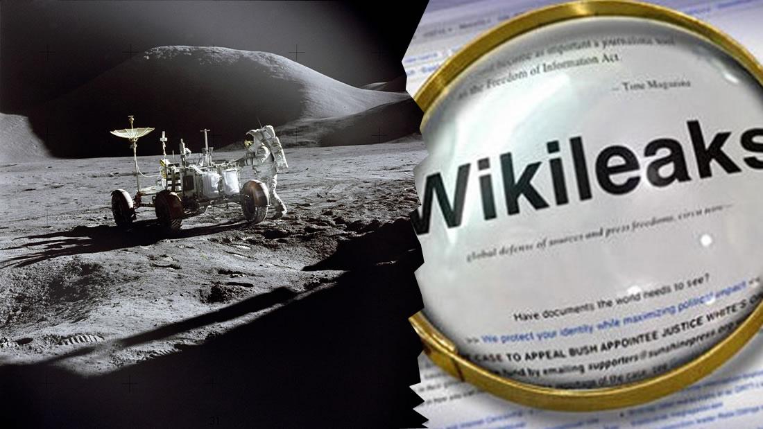 Wikileaks filtra información sobre una base secreta de EE.UU. en la Luna