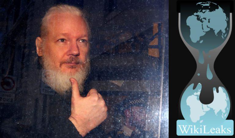 WIkileaks revela cientos de archivos tras la captura de Julian Assange