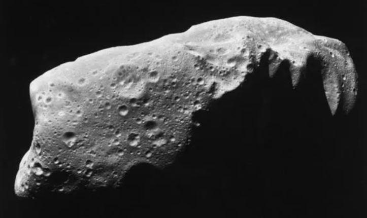 Representación de un asteroide
