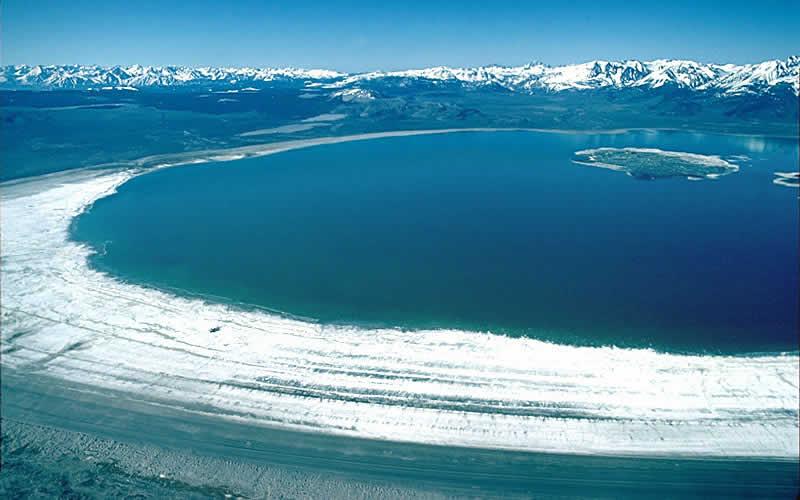 En el Lago Mono en California existe una bacteria llamada GFJA-1 que posee una característica muy peculiar: puede reemplazar los átomos de fósforo en su material genético por átomos de arsénico