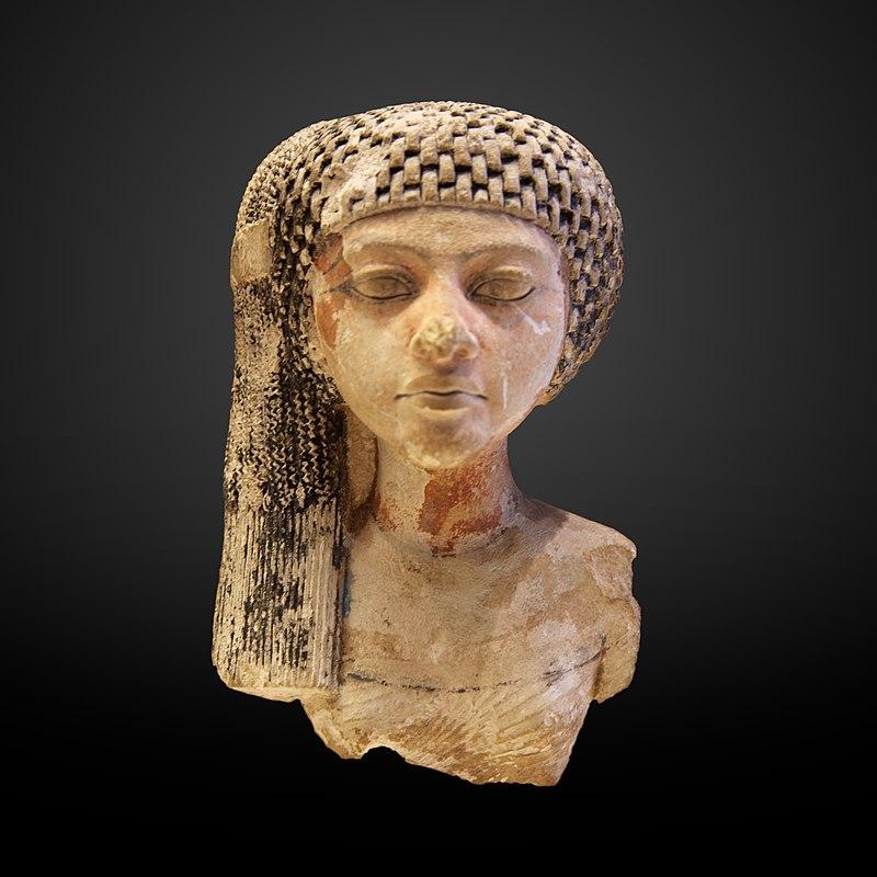 Meritaten, posiblemente hija del rey Akenatón y la reina Nefertiti, más tarde una gran esposa real, y tal vez reinando por derecho propio como el faraón Ankhkheperure Neferneferuaten