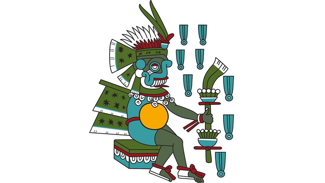 Tlaloc, Dios de la Lluvia, Trueno, Terremotos