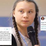Adultos atacan a Greta Thunberg porque no pueden comprender sus argumentos