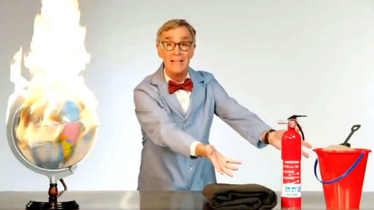 Bill Nye lanza alerta: «The Planet Is On F *** ing Fire!»