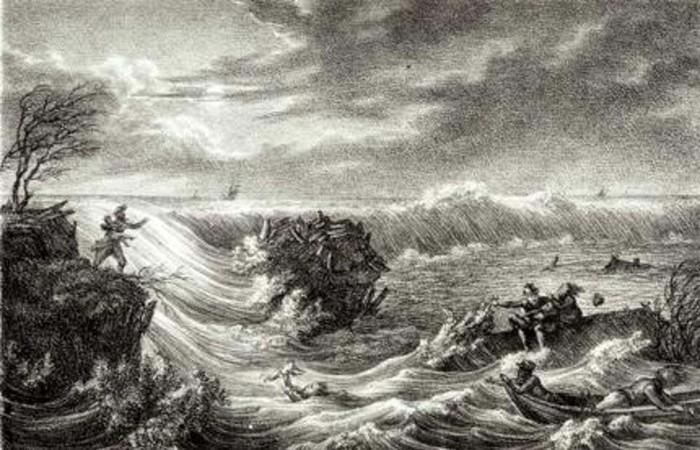 Se cree que el asentamiento mítico fue tragado por el mar ocultando lo que una vez fue una gran región que se extendía a lo largo de la costa de Gales y en el mar