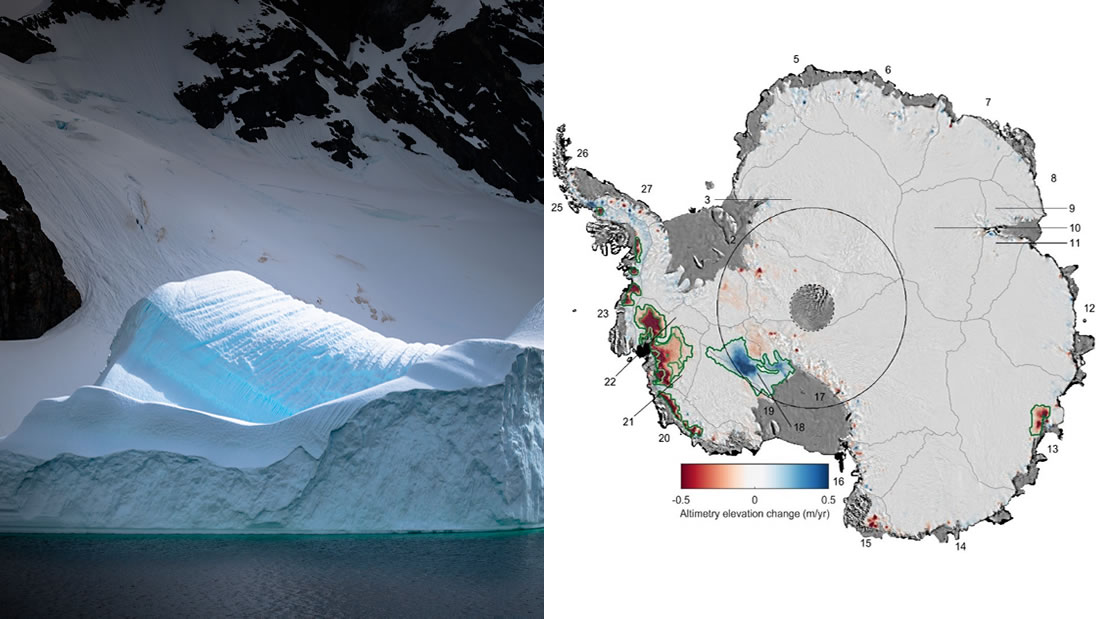 Científicos advierten que el hielo de la Antártida Occidental se ha reducido en «cantidades extraordinarias»