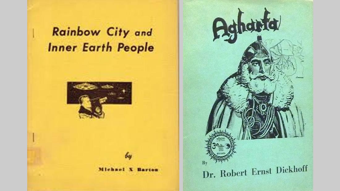 Dos de los libros influenciados por el Manuscrito Hefferlin, que no reconocieron su autoría