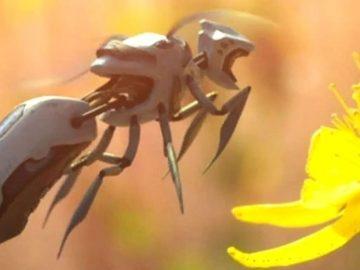 Compañía Walmart patenta abejas robot autónomas