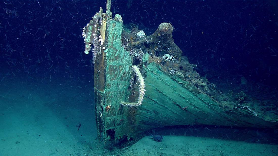 Descubren un misterioso naufragio de 200 años en el Golfo de México