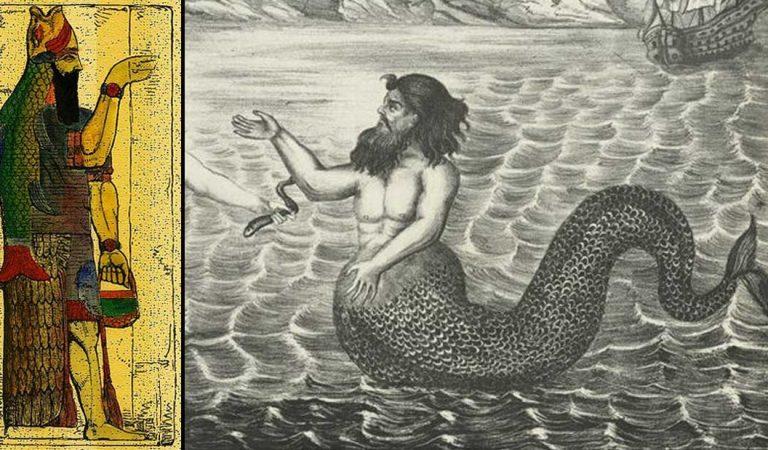 El misterio del dios pez Oannes: ¿un híbrido sabio creado por los Anunnaki?