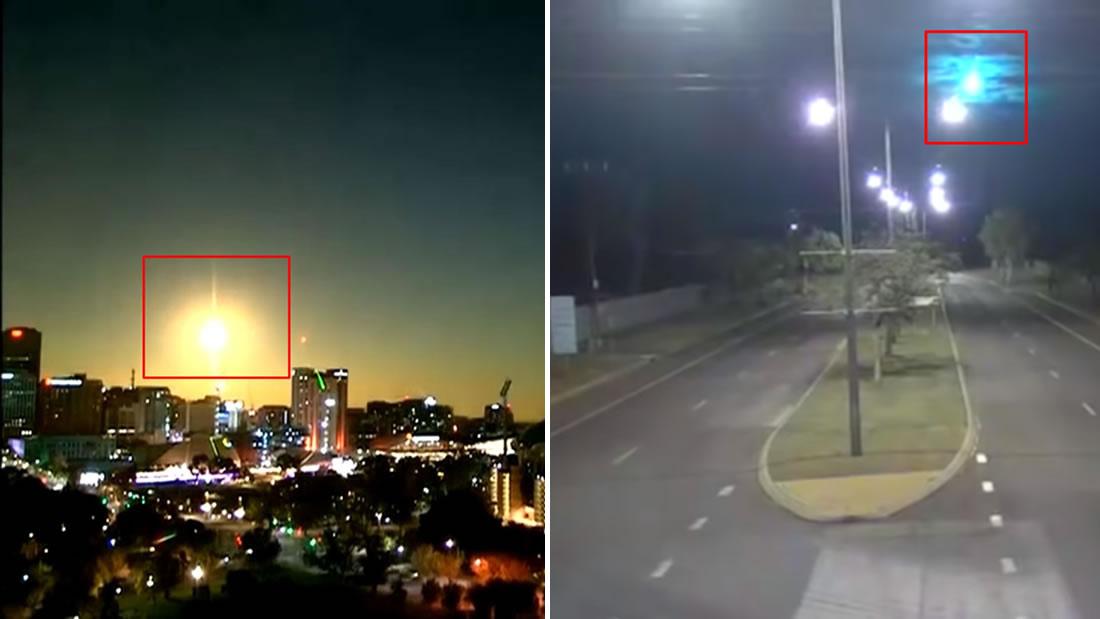 En solo una semana dos bolas de fuego iluminaron el cielo de Australia ¿qué las causó?