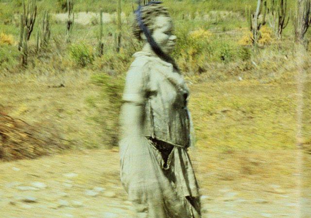 Fotografía de otro supuesto zombie en Haití