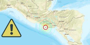 Fuerte terremoto de 6.8 golpea El Salvador y emiten alerta de tsunami en el Pacífico