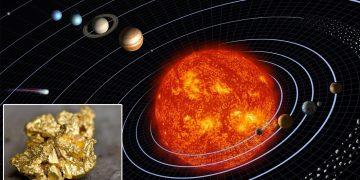 Hallan una antigua estrella de neutrones que inundó de oro nuestro sistema solar
