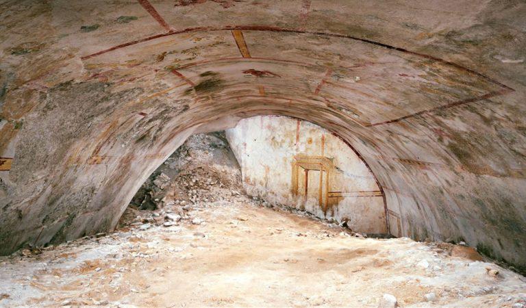 Hallan una cámara subterránea oculta en el palacio del emperador Nerón