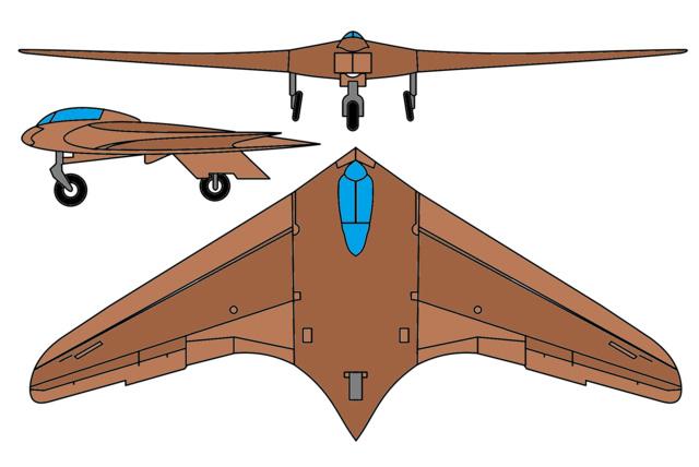 Horten Ho 229, el avión prototipo bombardero Nazi de hace medio siglo y su relación con recientes desarrollos
