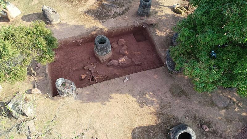 Sitio de excavación