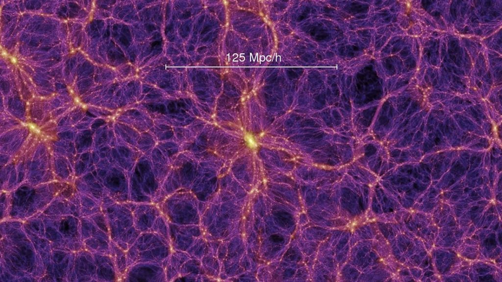 La materia oscura ocupa aproximadamente el 95 % del universo