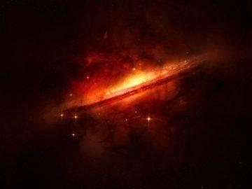 La materia oscura puede estar huyendo hacia nuestro Universo desde otra dimensión