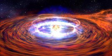 Observan un agujero negro devorando una estrella de neutrones