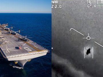 OVNIs están invadiendo el espacio aéreo militar de EE.UU. muchas veces al mes, dice la Marina