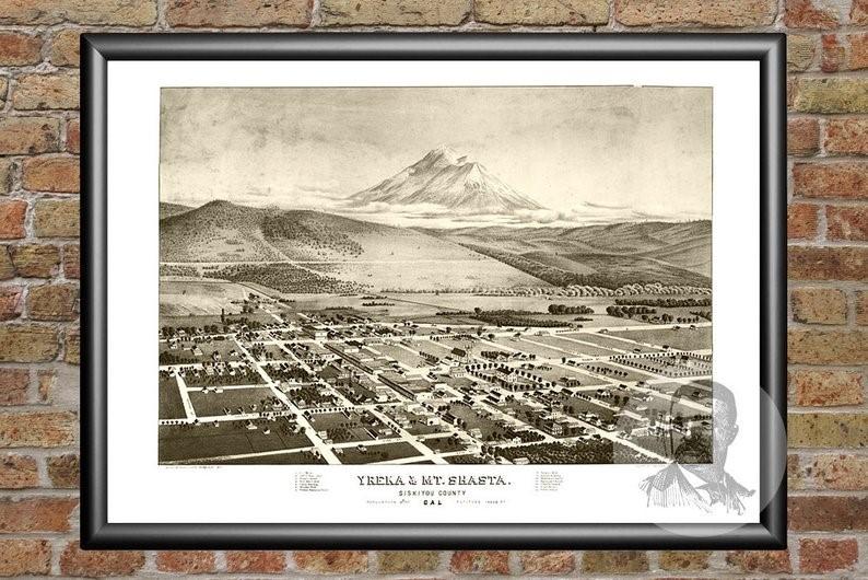 Yreka, localidad de Monte Shasta, donde Oliver tuvo su contacto con Phylos