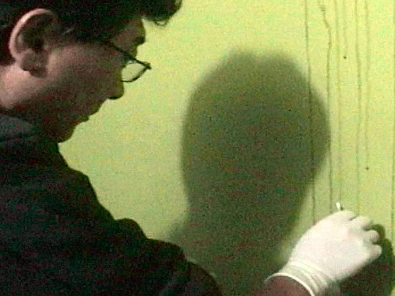 Foto captura: toma de muestras de sangre