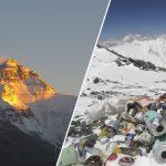 Retiran toneladas de basura del Monte Everest y muchos cuerpos humanos
