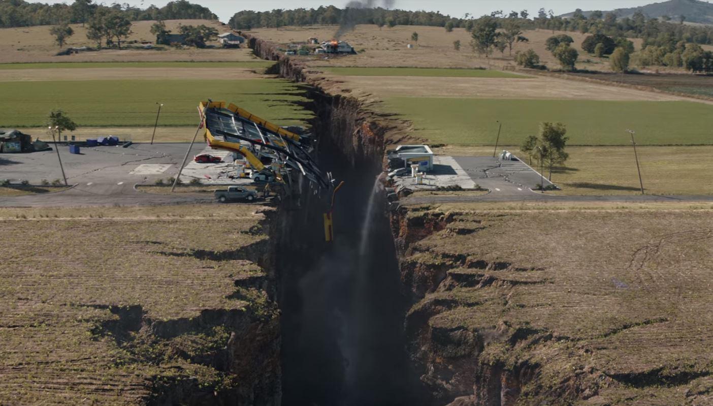 Escena de la película San Andreas