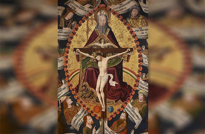 Ilustración de la Santísima Trinidad