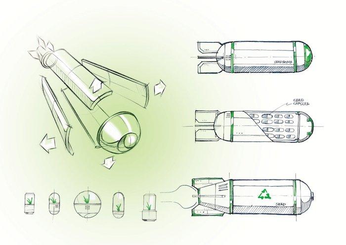 Diseño de las bombas de semillas