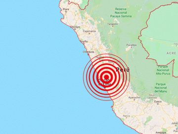 Sismos en Lima, Callao y Arequipa en Perú golpean con minutos de diferencia