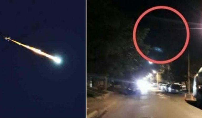 Un meteorito cae en Uruapan, Michoacán (México) causando una explosión y temblor