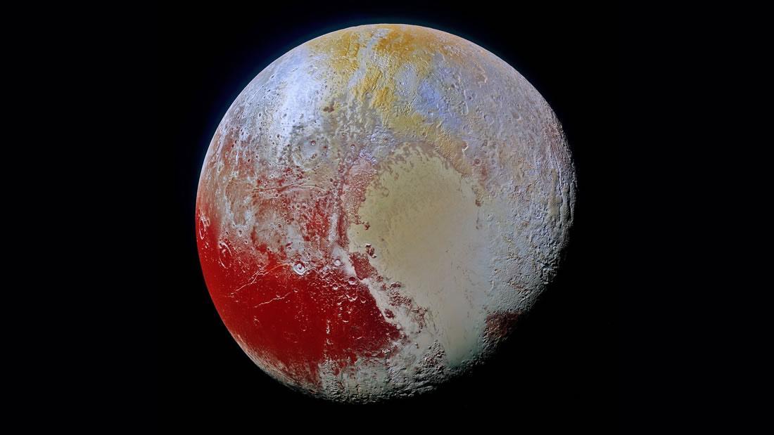 Un océano líquido podría existir dentro de Plutón