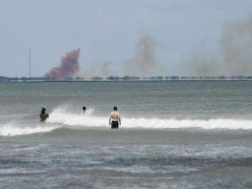 Una «anomalía» causó la explosión de una nave de SpaceX, admite su vicepresidente