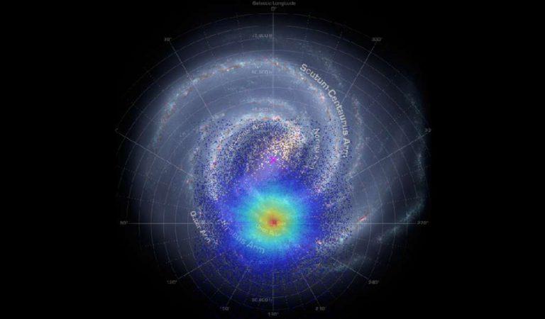 Una explosión gigantesca ocurrió en la Vía Láctea hace miles de millones de años