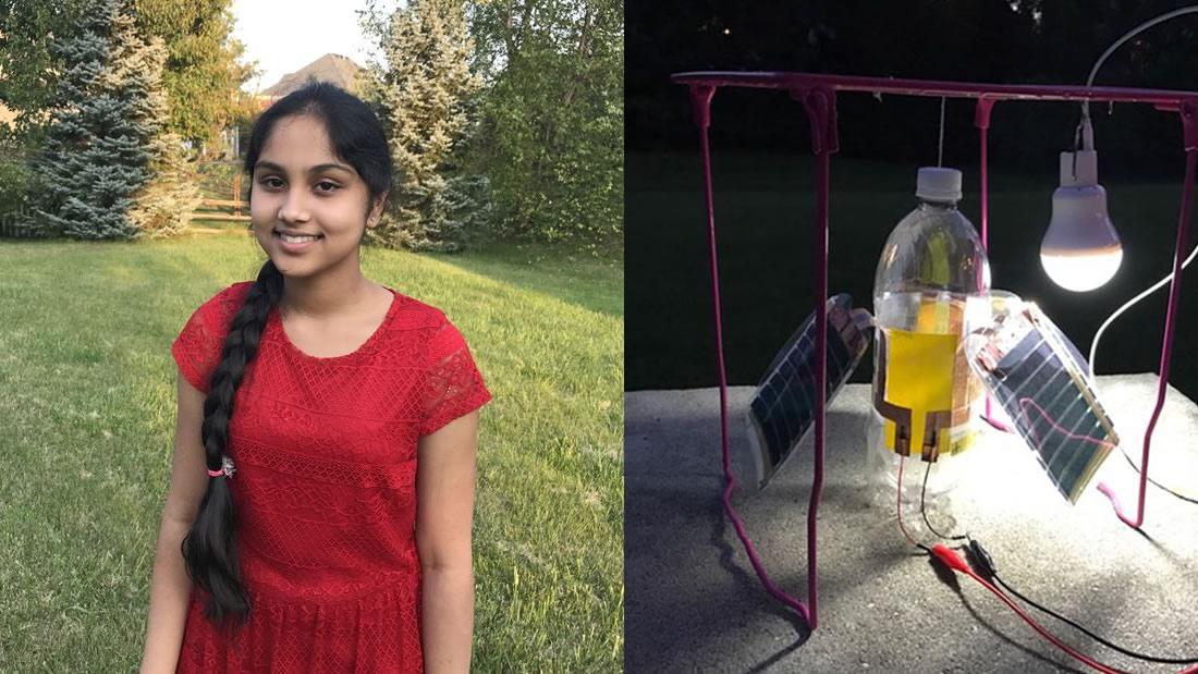 Una joven científica logra generar energía limpia por solo 5 dólares