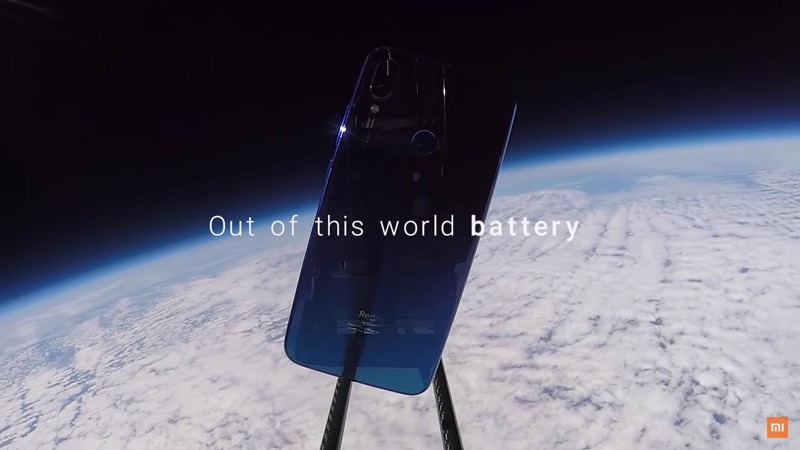 Xiaomi envía un smartphone al espacio y captura imágenes de la Tierra