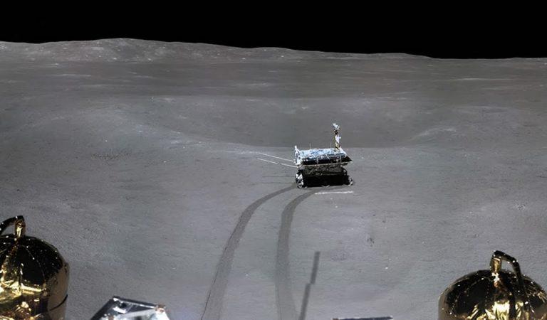Yutu 2, el rover de China, recoge muestras del otro lado de la Luna