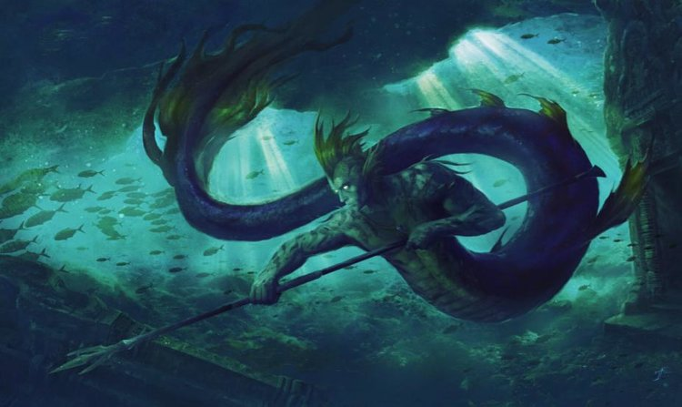 Dioses Alienígenas: Híbridos mitad pez y mitad humano (Vídeo)