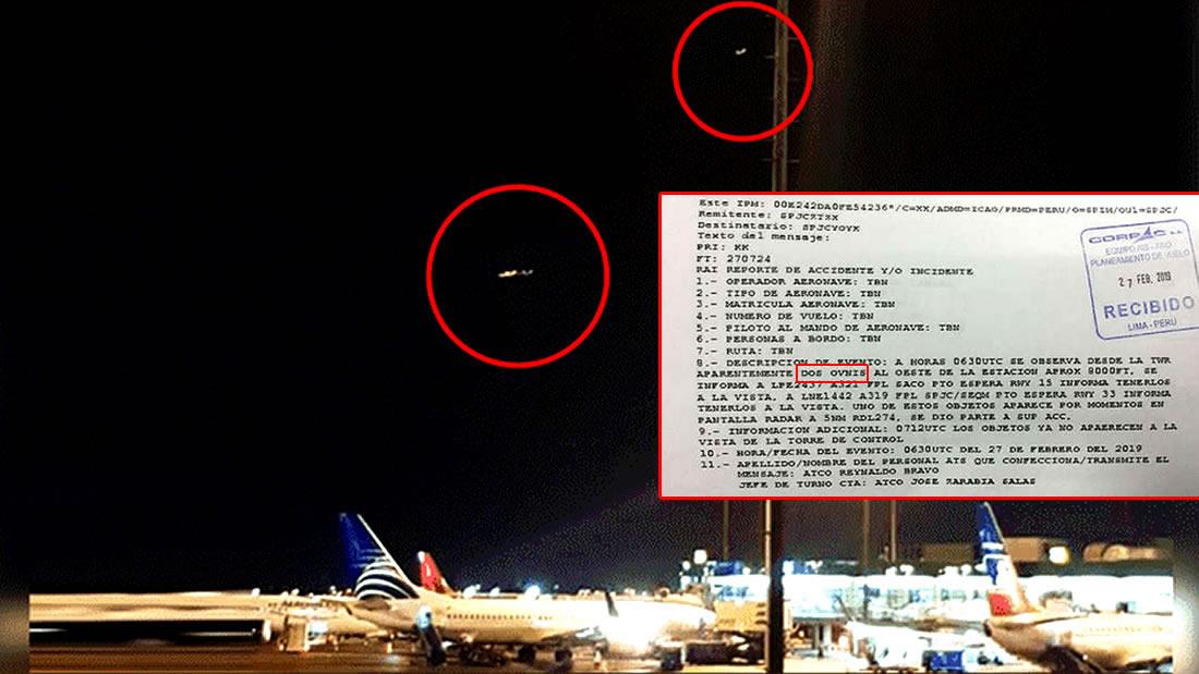 Fuerza Aérea del Perú confirma avistamiento OVNI a CNN, pero luego lo niega