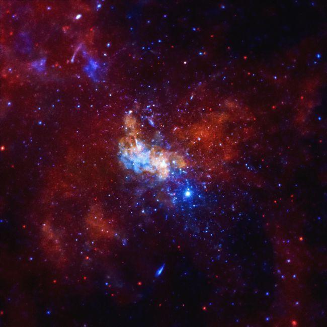 La ubicación del agujero negro en el centro de la Vía Láctea, Sagitario A