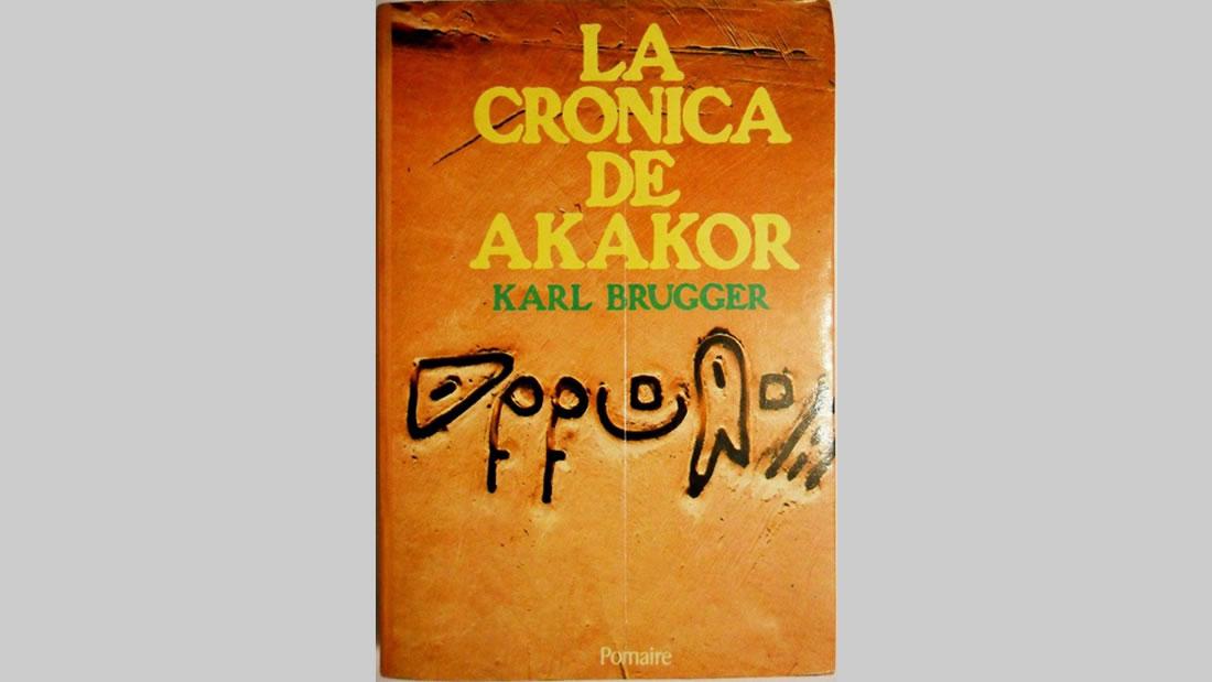 Portada del libro «La Crónica de Akakor», de Karl Brugger