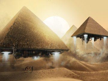¿Alienígenas coexistiendo con humanos en el antiguo Egipto?