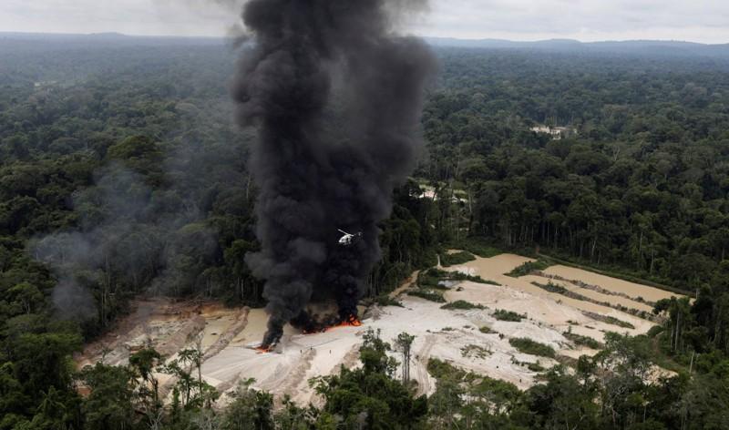La proliferación de minas ilegales se ha convertido en una epidemia para la selva brasileña