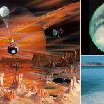 Anillos de cristales alienígenas podrían estar incrustados en los bordes de los lagos de Titán